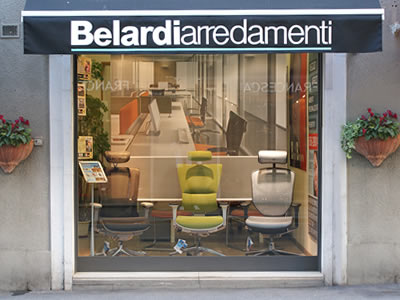 arredamento uffici e negozi in toscana le sedi di belardi