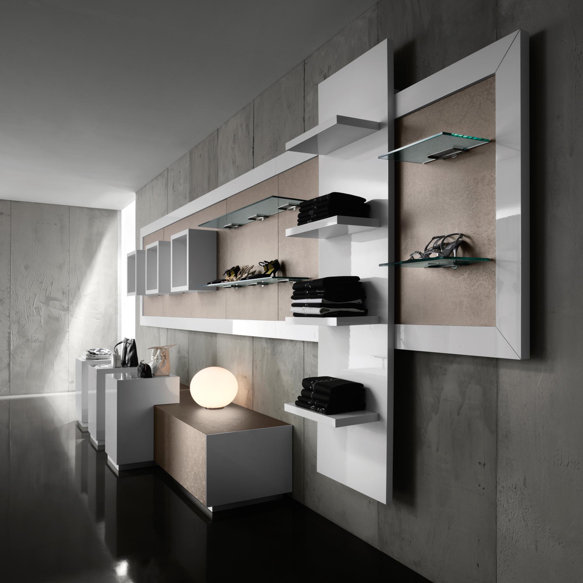 Arredamento per negozi di abbigliamento toscana belardi for Arredamento