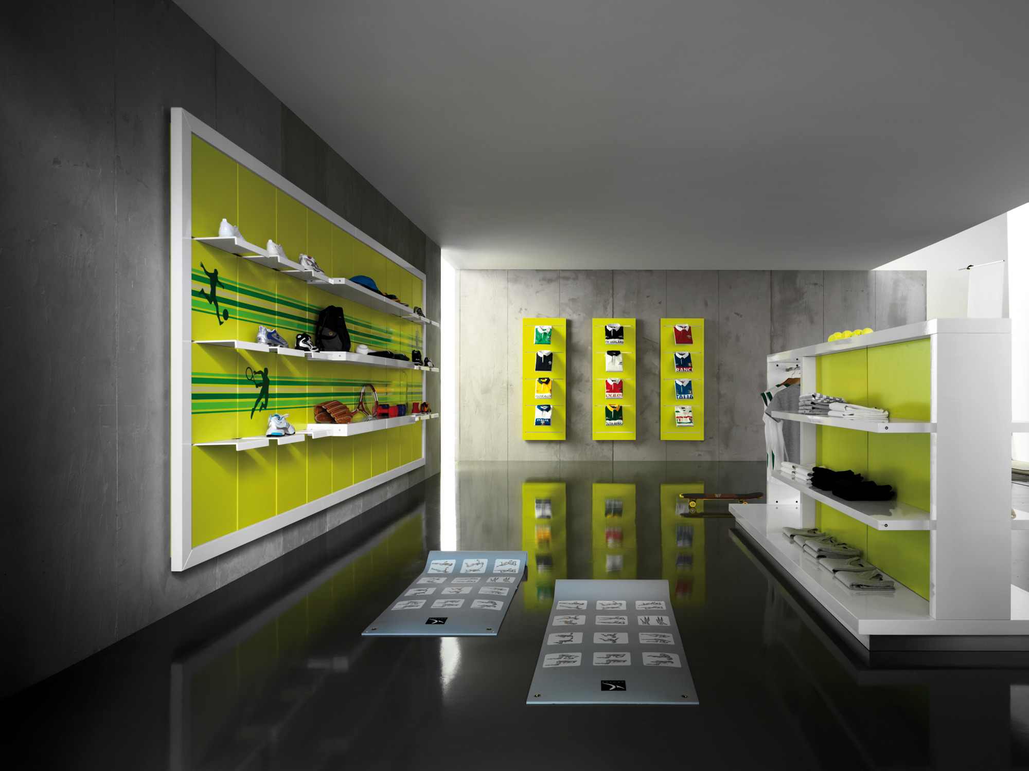 Arredamento per negozio di calzature toscana belardi for Negozi arredamento economici
