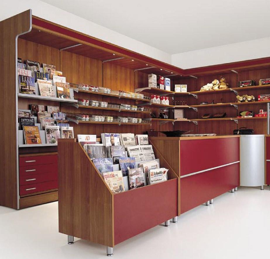 Arredamento per negozi di tabaccherie toscana belardi for Sei arredamenti