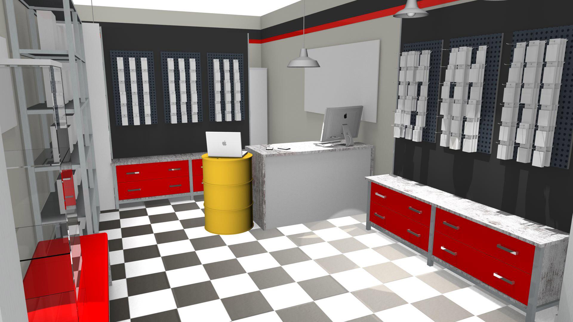 Arredare garage verticale attrezzi e oggetti di vario - Arredamento garage ...