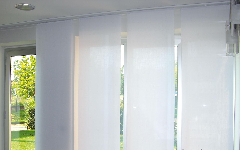 Tende a pannelli belardi arredamenti for Tende moderne x salone